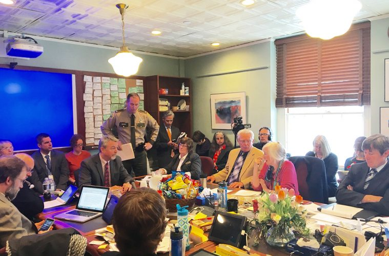House Judiciary Committee hears testimony on marijuana legalization in Montpelier on Thursday, March 24 2016