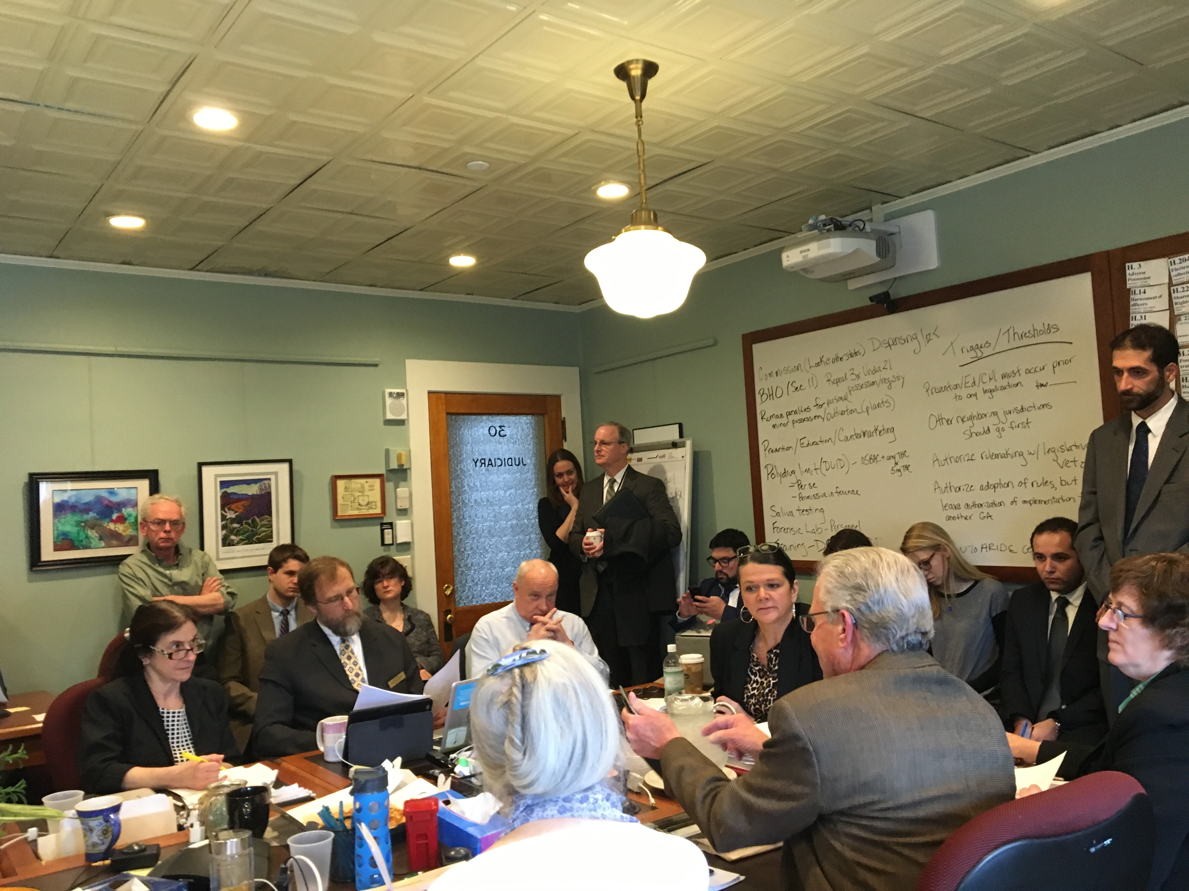Standing Room Only in House Judiciary Committee - 4/8/16