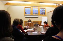 Women Grow Cannabis networking event at Goddard College in Plainfield, Vermont.