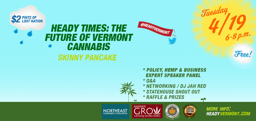 Heady Times: The Future of Vermont Cannabis