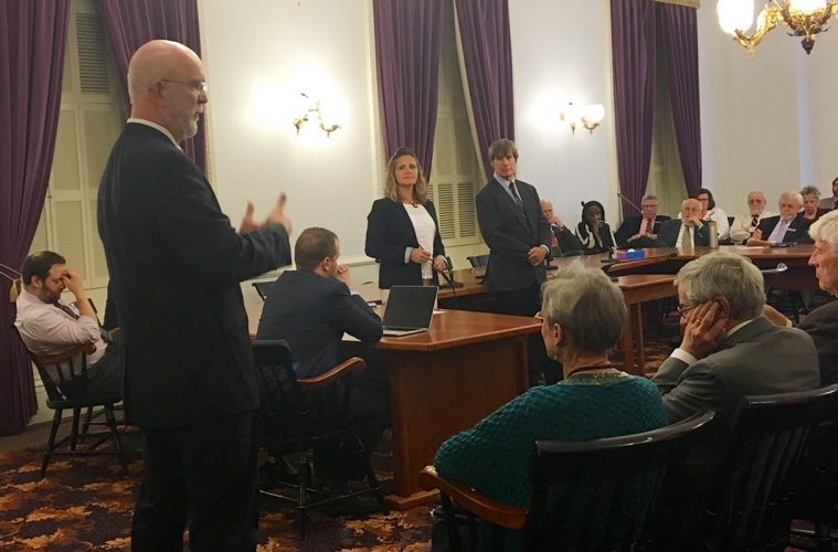 Vermont State House meets to vote on cannabis legislation in Montpelier at the State House.
