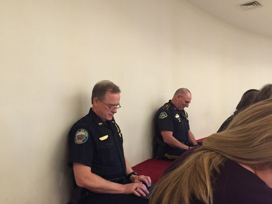 "Jess Aloe - Burlington Free Press, ""Police Role in Lawmaking Raises Questions"""