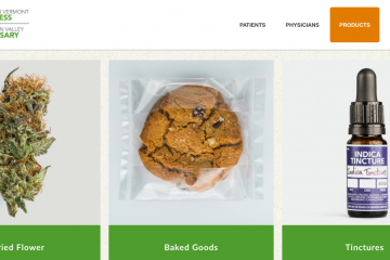 Champlain Valley Medical Marijuana Dispensary of Vermont website products and pricing