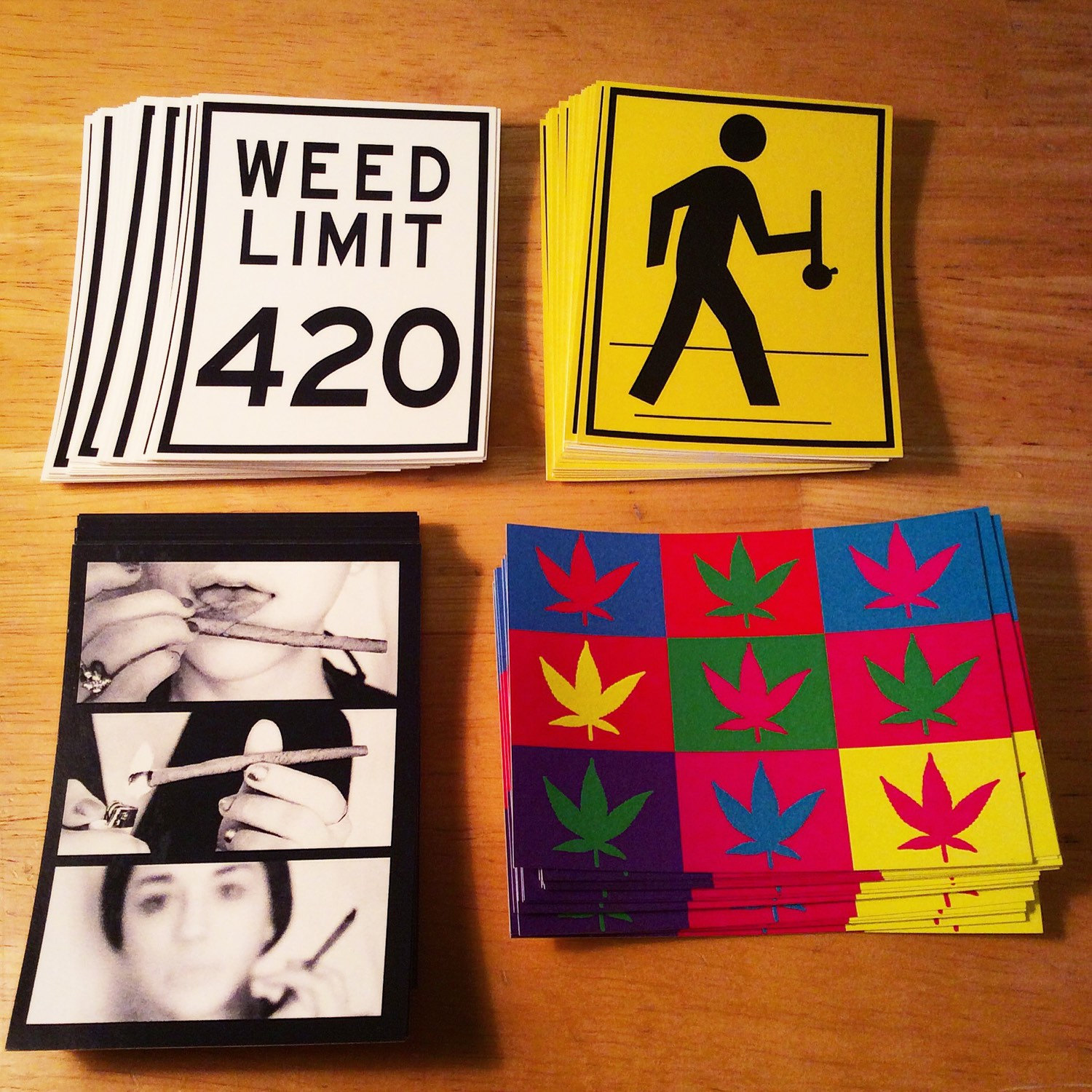cannabis-stickers