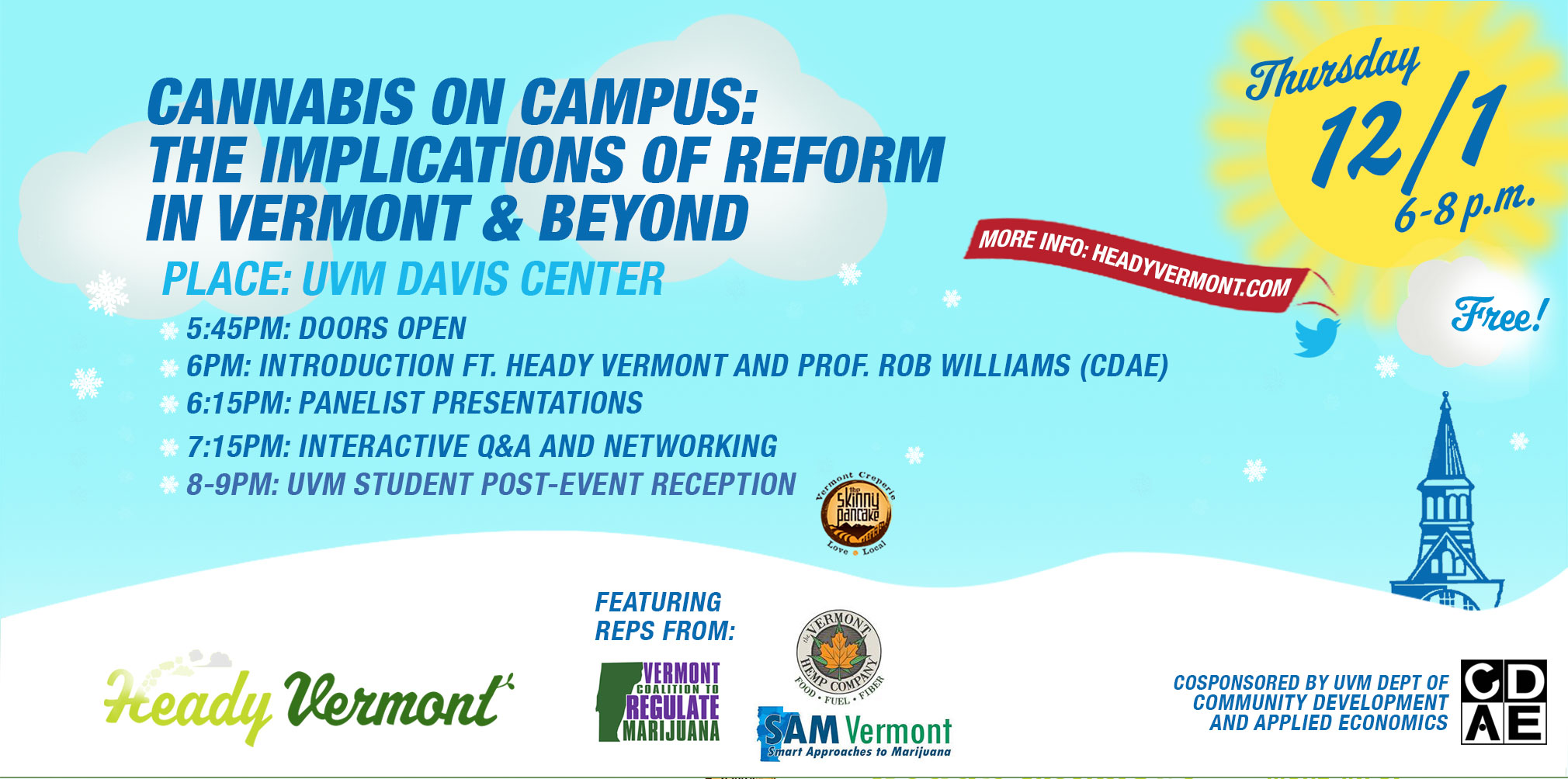 Heady Vermont Cannabis Event
