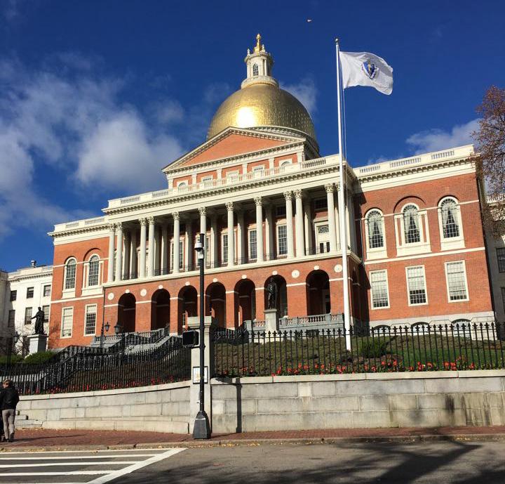 Mass State House Source: Wikipedia