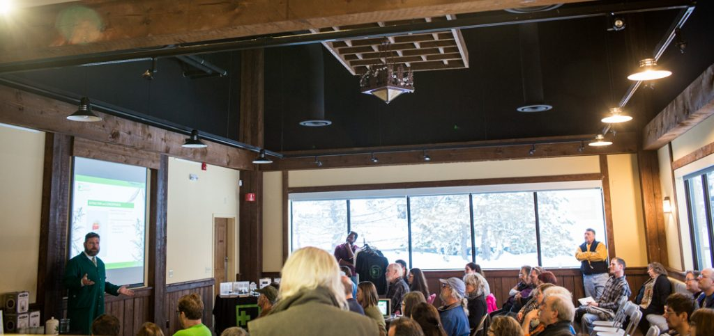 Medical cannabis event at Champlain Valley Dispensary in Milton, Vermont