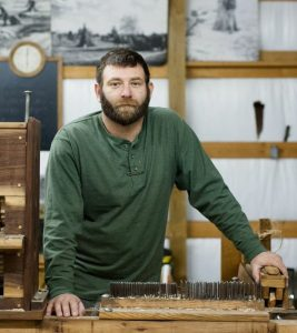 Michael Lewis, Growing Warriors founder, veteran and Kentucky hemp farmer.