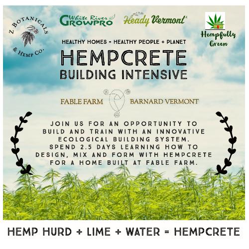Hempcrete Building Intensive – Walls 1 – Vermont Cannabis