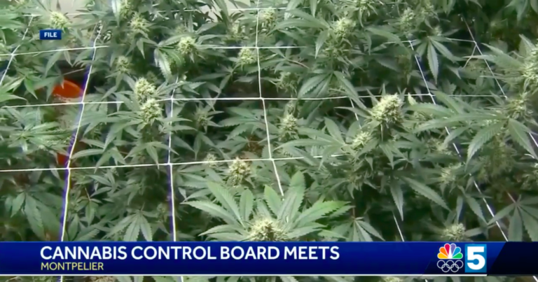 Vermont Cannabis Control Board Meets in Montpelier